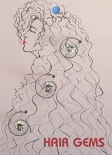 Hair Gems Crystals - HG246