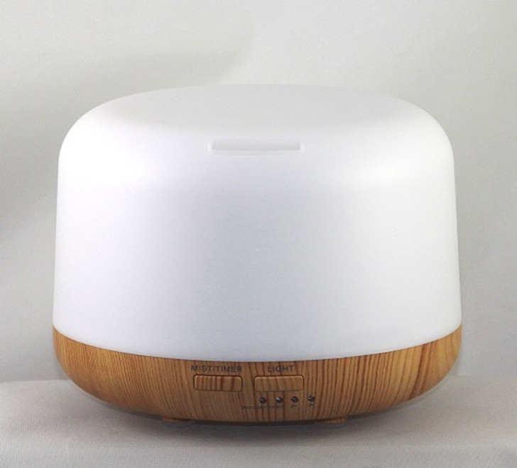WHITE/WOOD GRAIN ULTRASONIC DIFFUSER