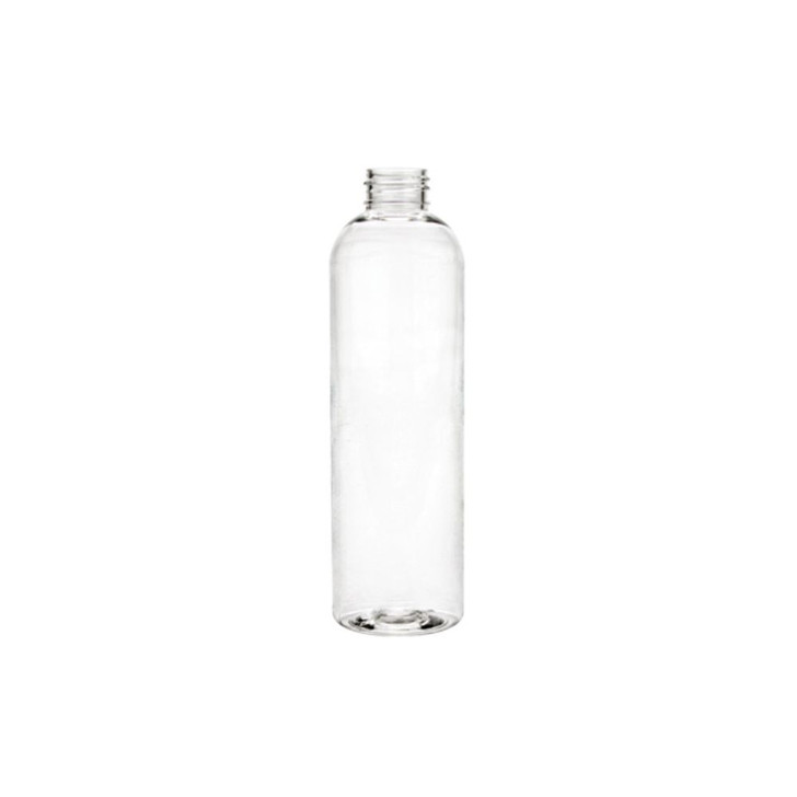 4 oz. Clear Plastic Bottle, 20/410 Finish - 12 COUNT