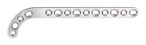 2.0mm 14 hole Double Threaded Locking Distal Femur Plate - Left
