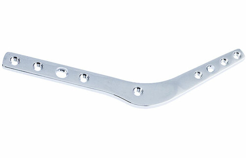 2.7mm Double Threaded Locking Pantarsal Arthrodesis Plate - Left