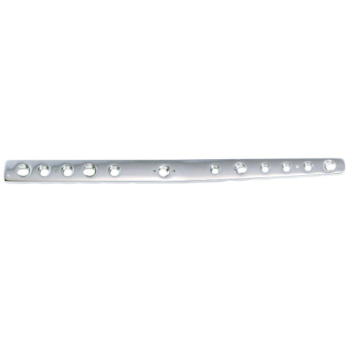 2.7/3.5mm Double Threaded Locking Pre-contoured Carpal Arthrodesis Plate - Extended 160mm