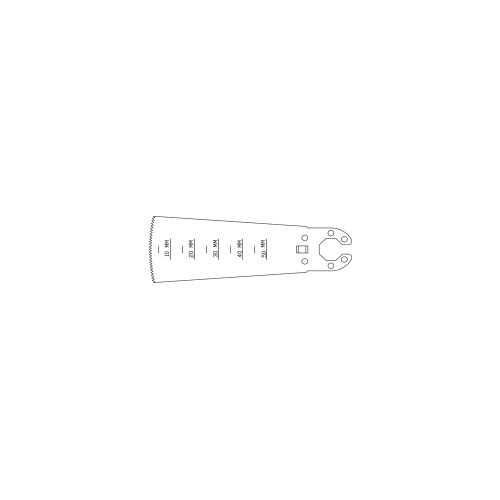 29.5mm Oscillating Saw Blade - OL128