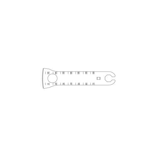 28.7mm Oscillating Saw Blade - OL131