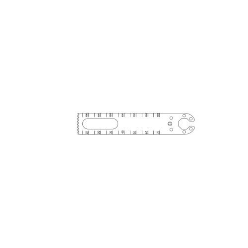 19.1mm Oscillating Saw Blade - OL136