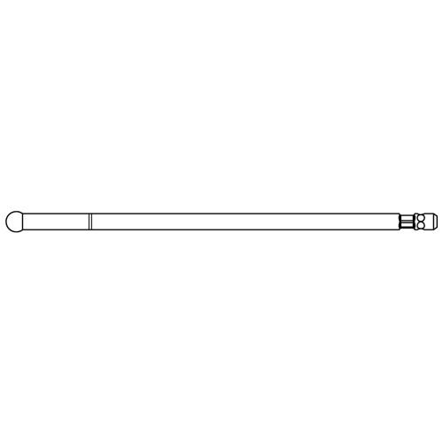 Medium Stainless Steel Round Cutting Bur - High Speed 84.5mm - 4.0mm Head
