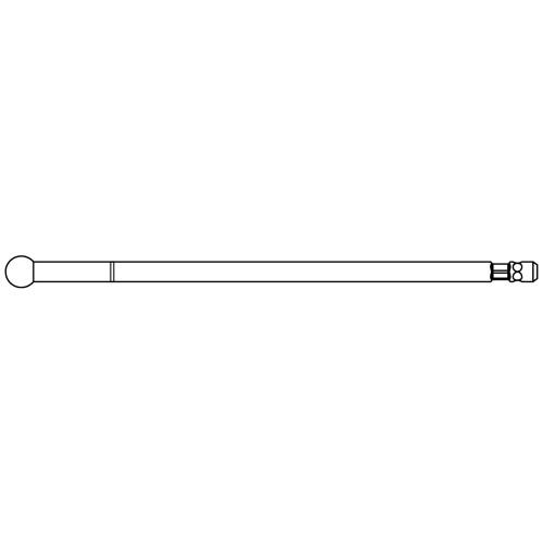 Medium Stainless Steel Round Cutting Bur - High Speed 84.5mm - 5.0mm Head
