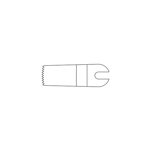 Stryker®  Omega Saw Blade -25.4 mm long -11.3 mm wide