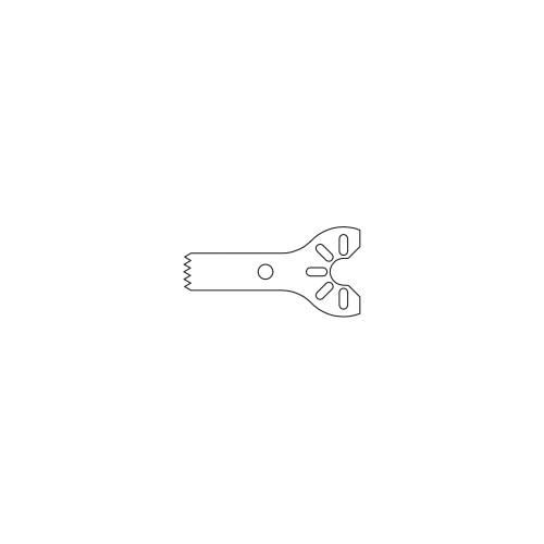 Stryker® Sagittal Blade 18.0mm long 5.5mm wide