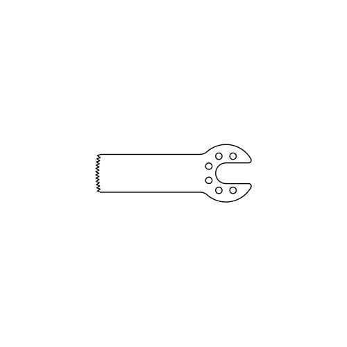 25.0MM X 9.0MM OSCILLATING BLADE