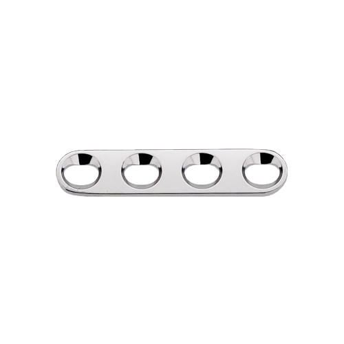 2.0mm Straight Plate - 4 Hole 23mm