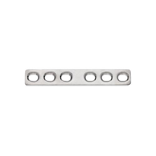 2.7mm Titanium 6 Hole Compression Plate