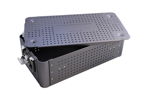 Large TPLO Case - Holds TPLO Plates - Screw Racks - Instruments