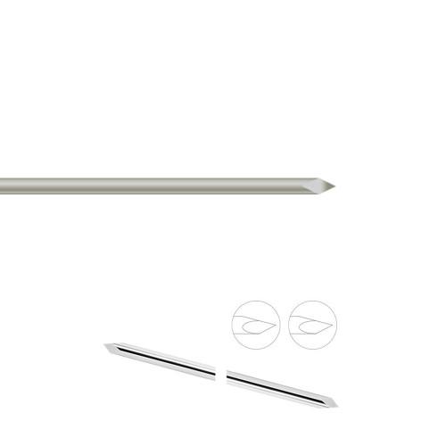 Smooth IM Pin - 12 in L - 1/4 in diameter