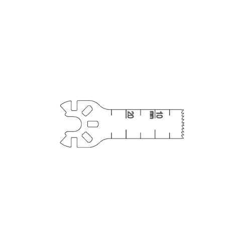 deSoutter¨ MINI SAGITTAL BLADE - 25 x 10 x 0.8mm