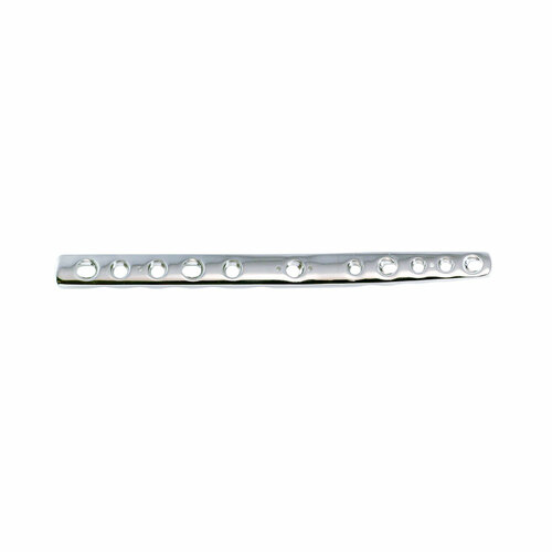 2.7/3.5mm Double Threaded Locking Pre-contoured Carpal Arthrodesis Plate - Extended 128mm