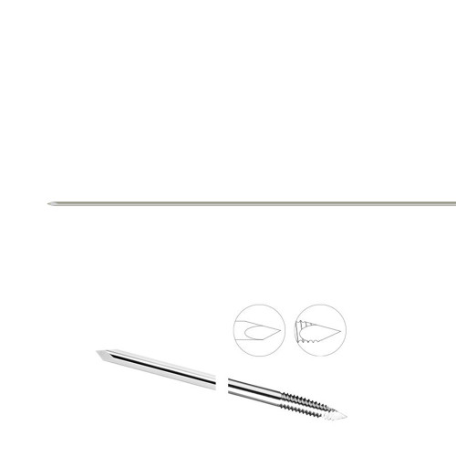 0.032 Partially Threaded 7 inch K-Wire