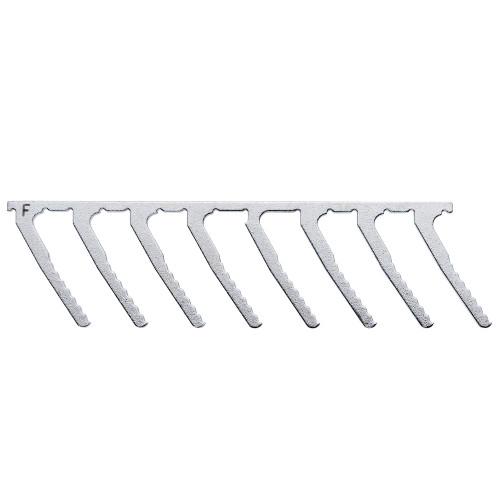 TTA Fork 8 Prong- Stainless