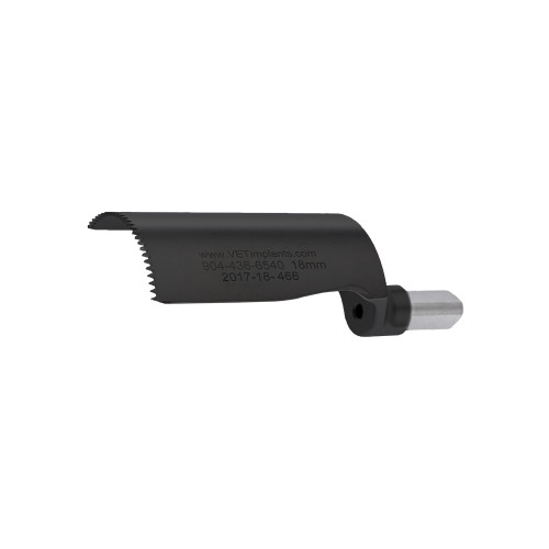 18mm DLC COATED VOI TPLO Blade, 46mm Working Blade Length
