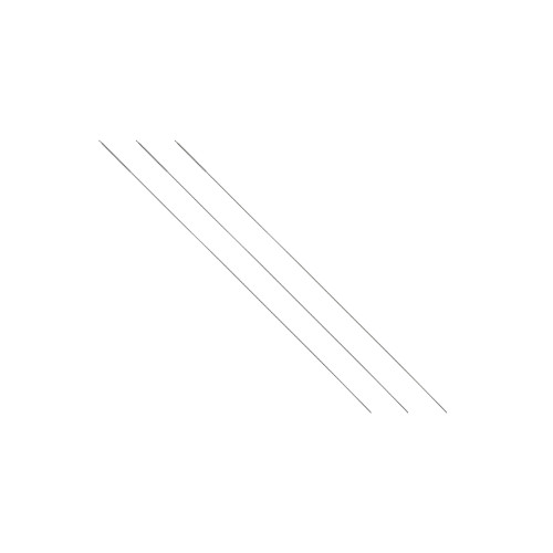 Cannulation Brush, 2mm Dia, #6 French, Nylon, For 3.2 Cannulated Drill Bit-3 Pack