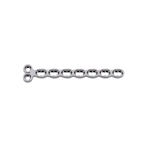 3.5mm Double Threaded Locking Condylar Plate - 2 Holes Head, 7 Holes Shaft