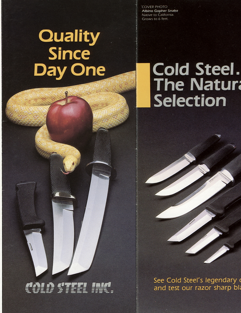Cold Steel 1988 Catalog