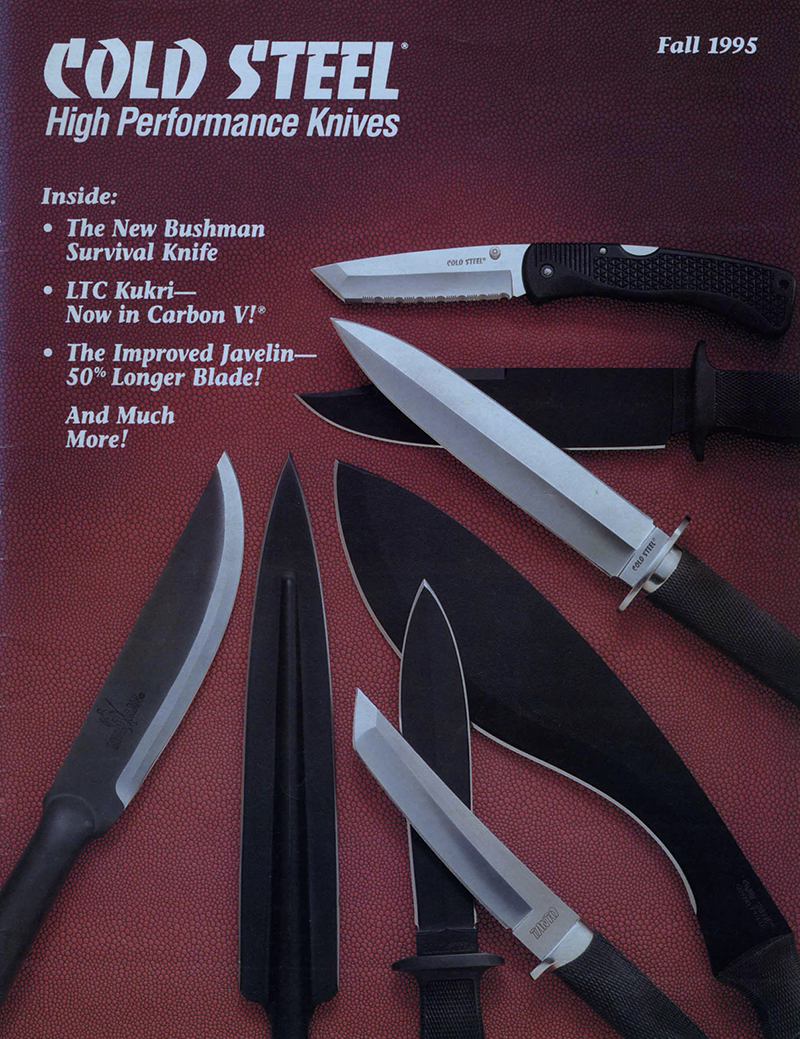 Cold Steel 1995 Catalog