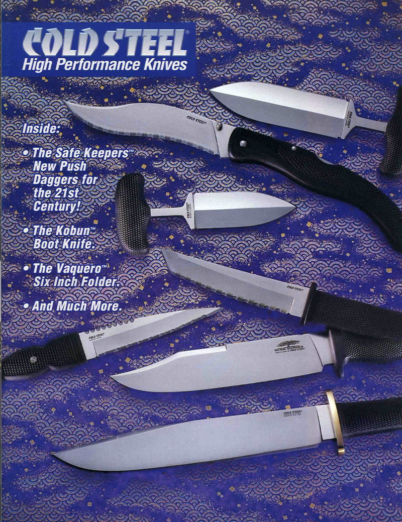 Cold Steel 1996-1997 Catalog