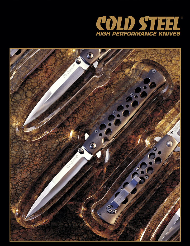 Cold Steel 2001 Catalog