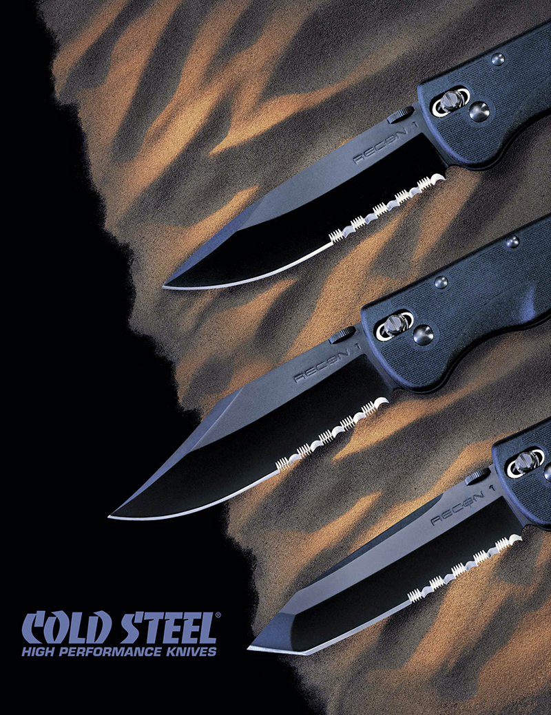 Cold Steel 2002 Catalog
