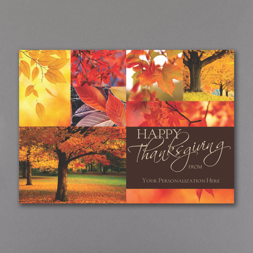 Thanksgiving and Holiday Cards from It's a Wrap! Call for more information 888-477-9727