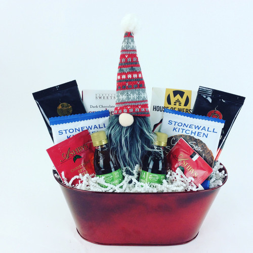 Gnome for the Holidays Gift Basket
