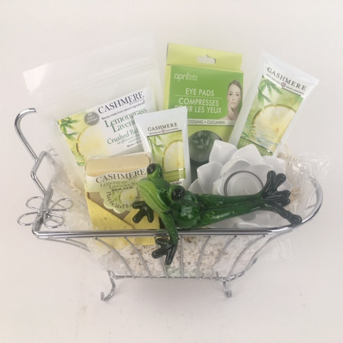 Yoga Frog Spa Basket