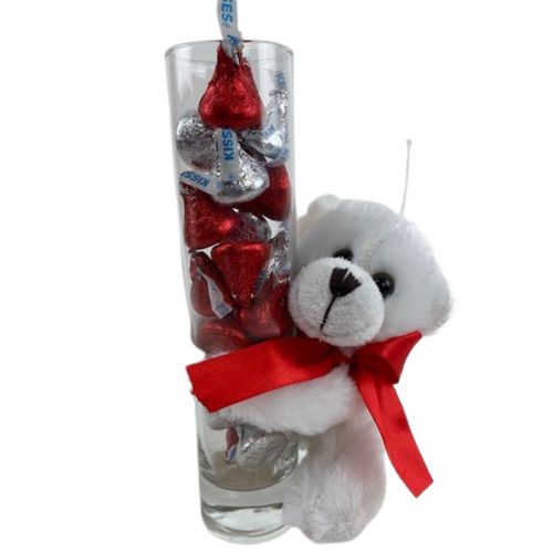 Bear and Kisses Vase
