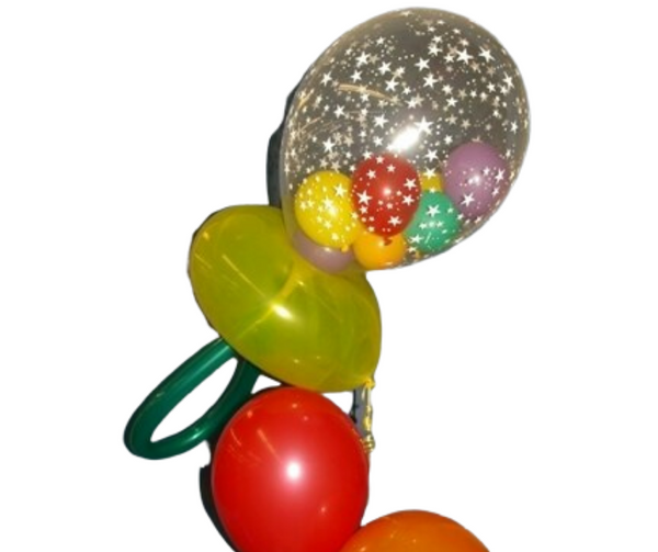 Balloon Baby Rattle