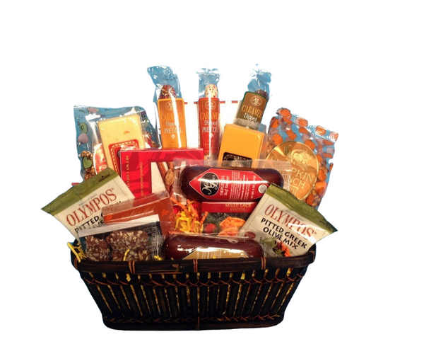 By It's A Wrap!  Yellow, Orange and Red colors make this basket outstanding