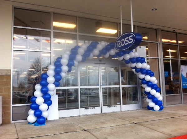 Balloon Arches by It's A Wrap! are great for grand openings