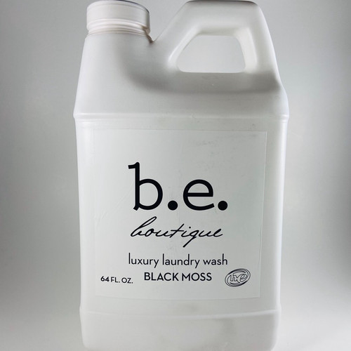 BE black moss 64oz luxury laundry detergent