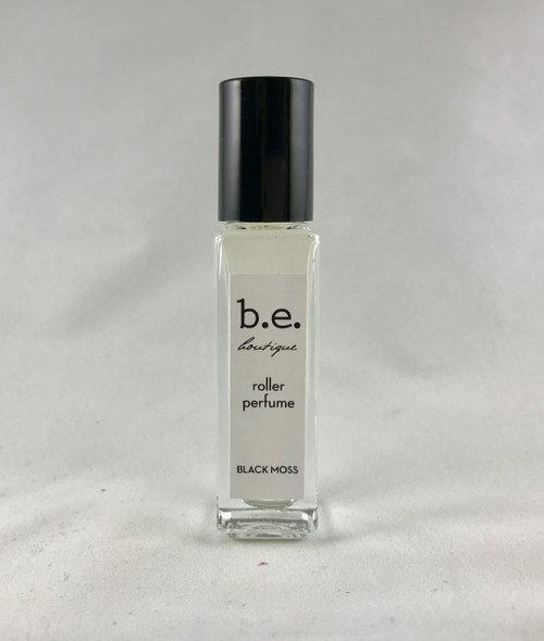 BE black moss roller perfume