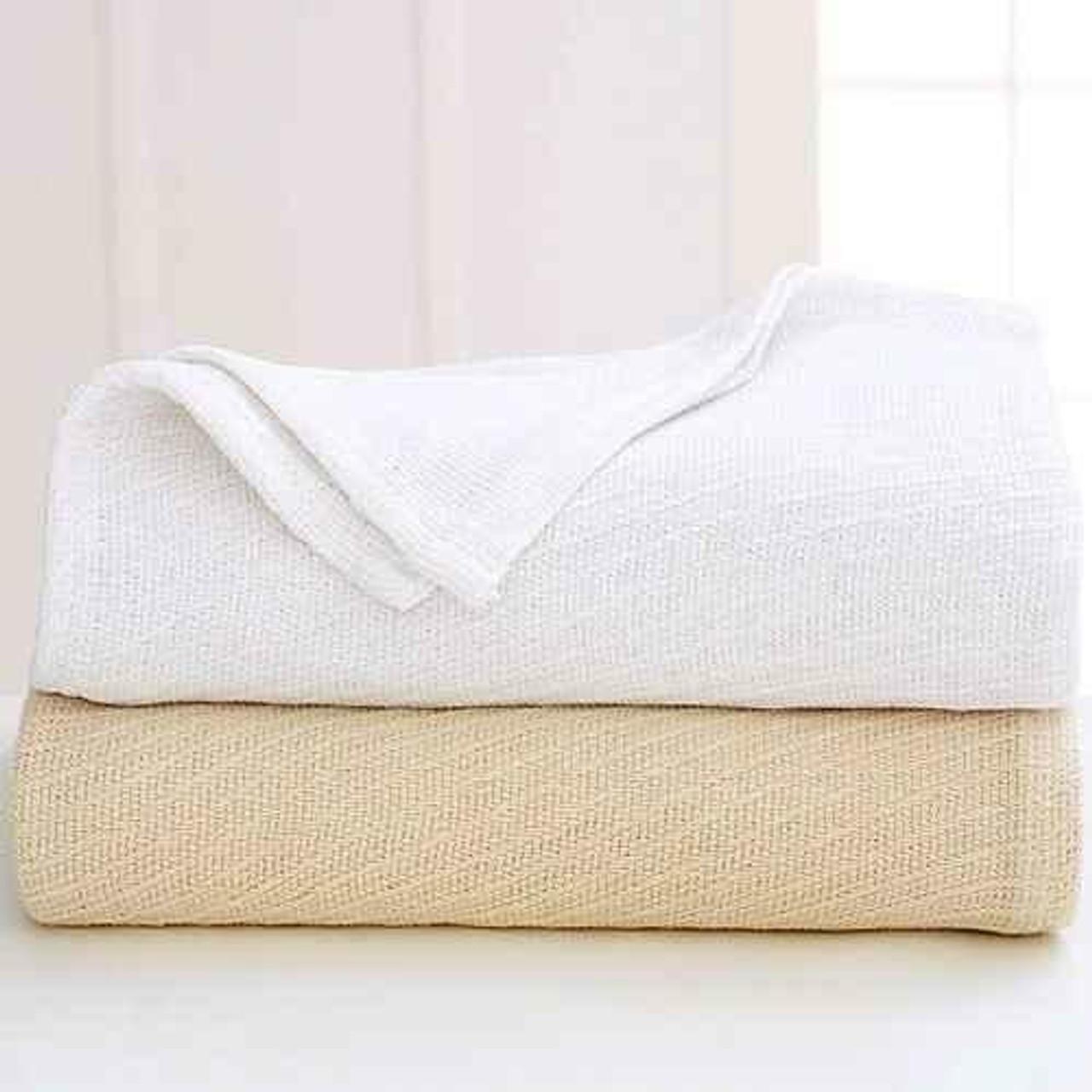 WestPoint/Martex Westpoint or Martex Sovereign or Thermal Blanket orDiagonal Stripe or White Or Natural or 2-4 Per Case