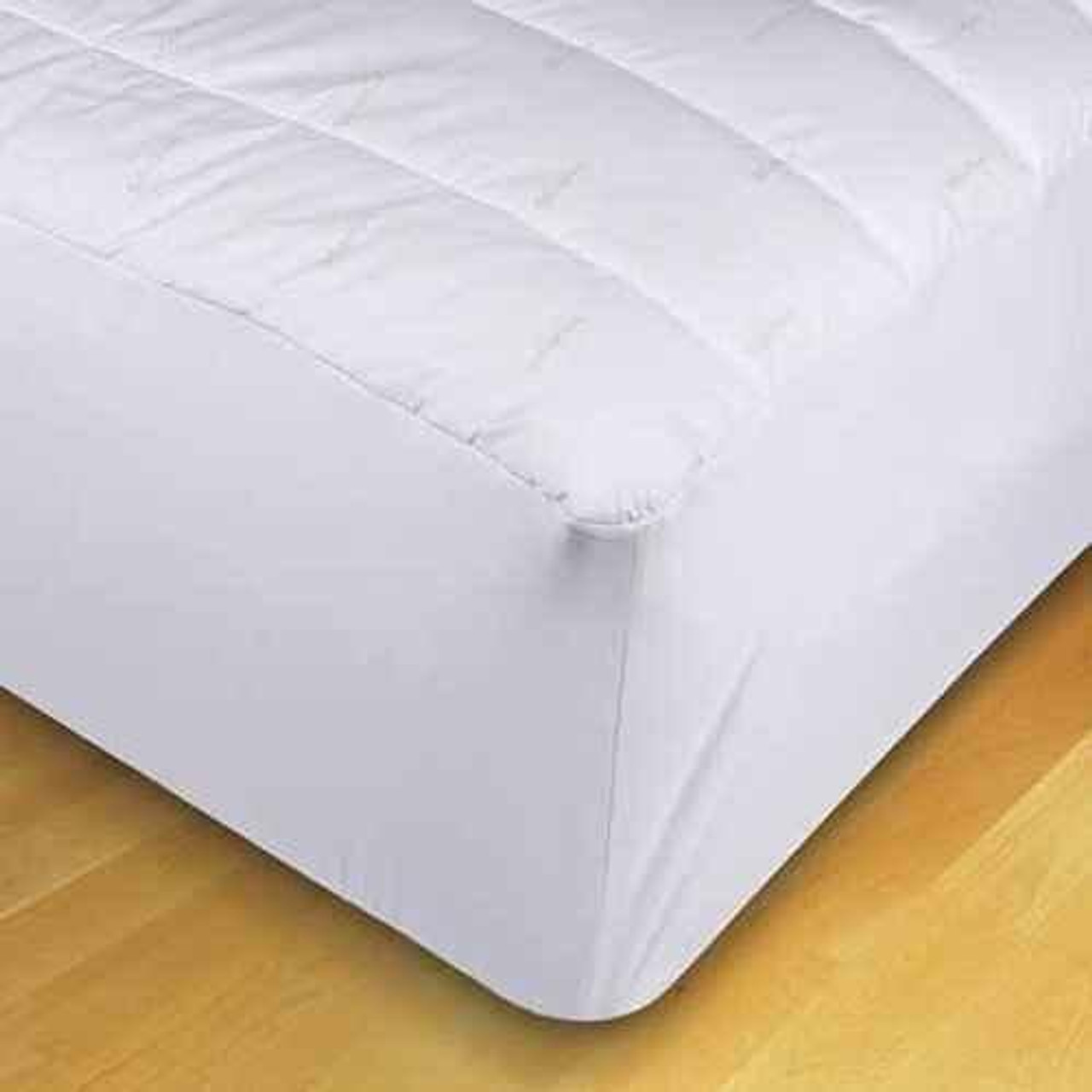 WestPoint/Martex Westpoint or Martex Ecopure or Fitted Mattress Pad - 20 Fitting or White or 2-4 Per Pack