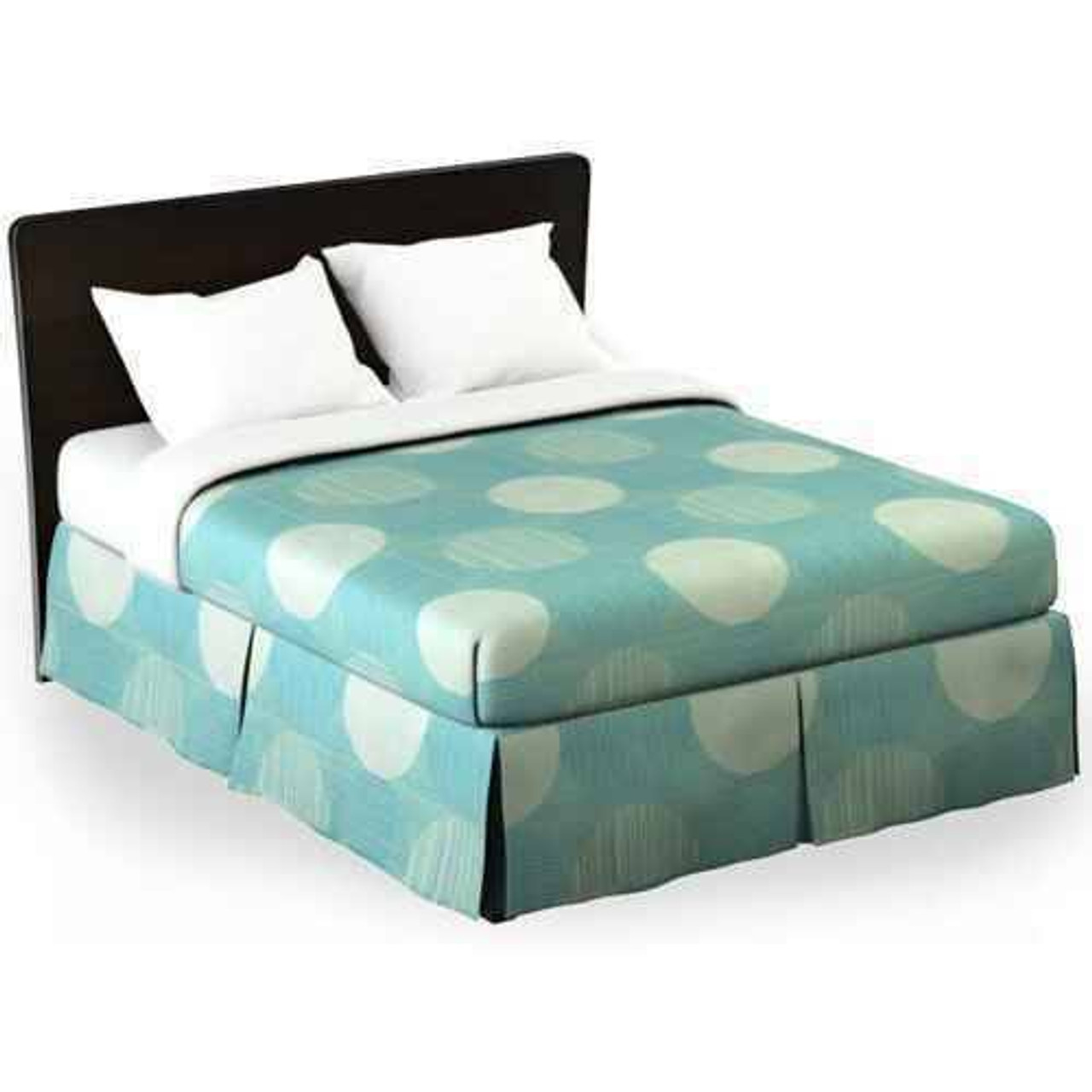 WestPoint/Martex Westpoint or Martex Rx or Bed Skirt or Circles and Stripes Aqua or Pack Of 12