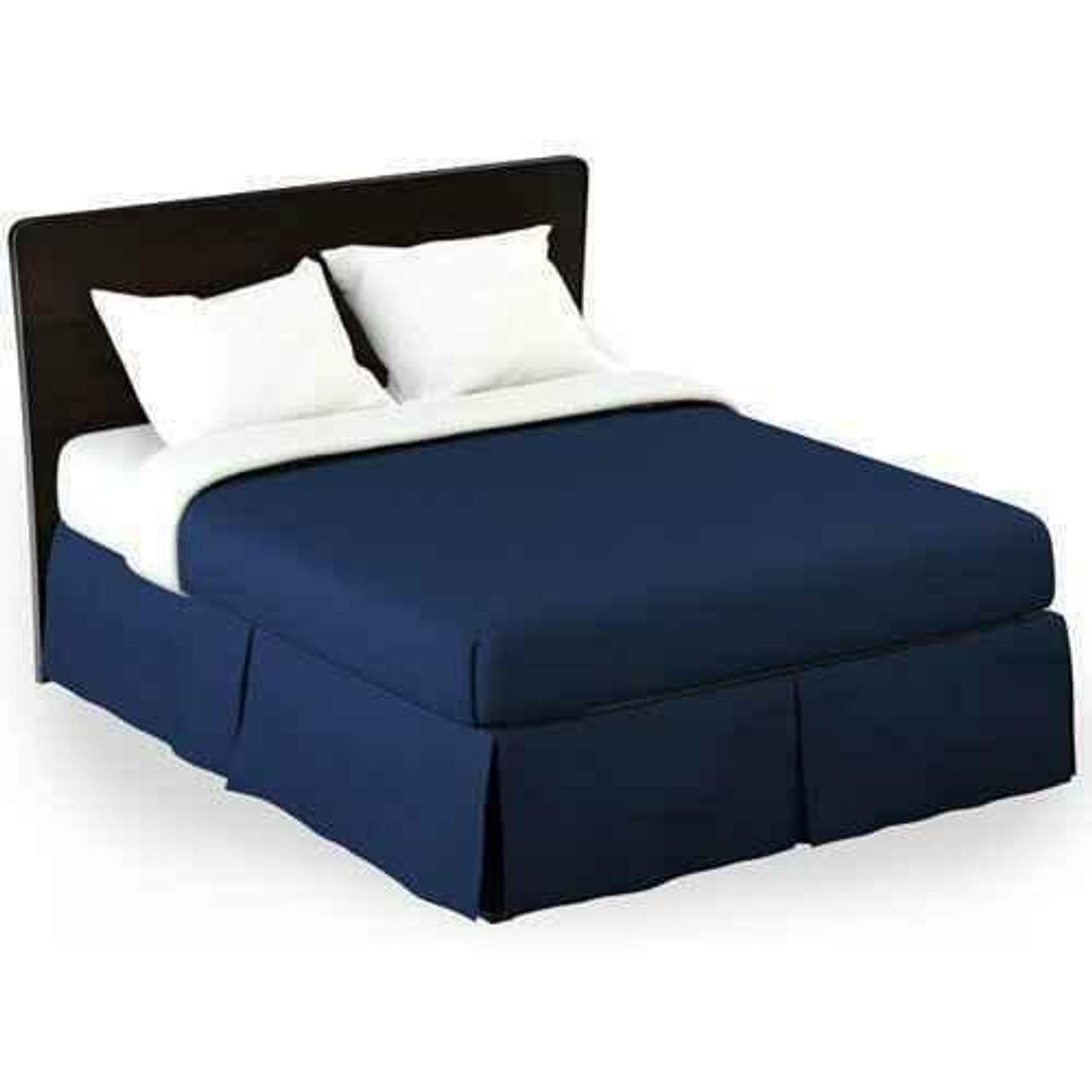 WestPoint/Martex Westpoint or Martex Rx or Bed Skirt or Solid Navy or Pack Of 12