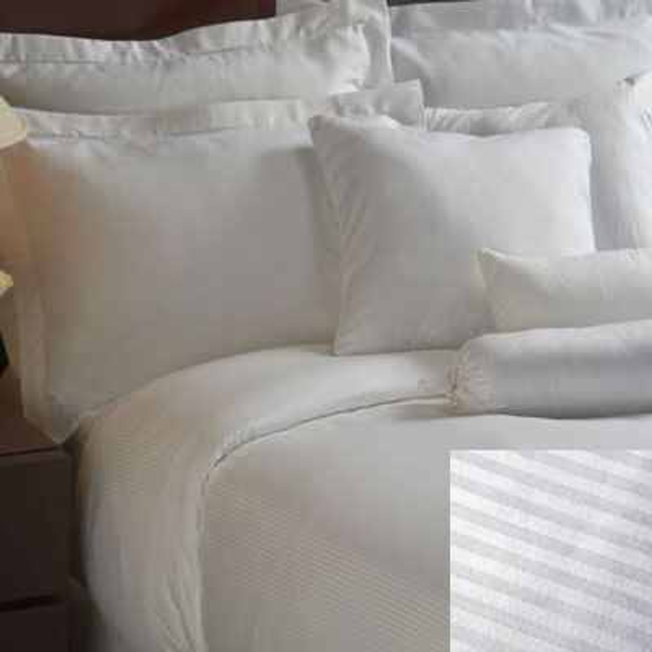 1888 Mills 1888 Mills or Magnificence or Duvet Covers or Striped or White or Linen or Pack of 6