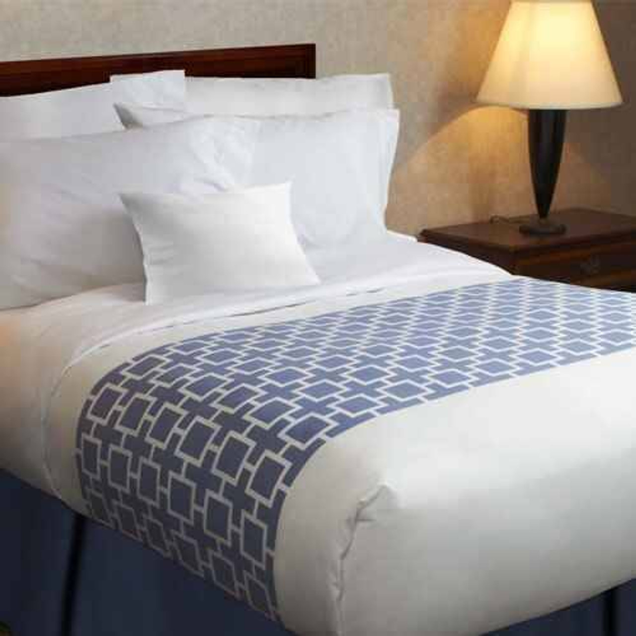 1888 Mills 1888 Mills or Beyond Impressions Prints or Bed Scarf or Blue - Beige - Green - Grey Designs or Pack of 12
