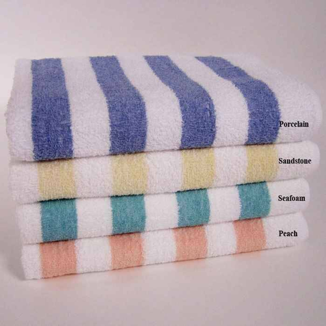1888 Mills 1888 Mills Towels or Fibertone Classic Cabana Striped Beach Towels