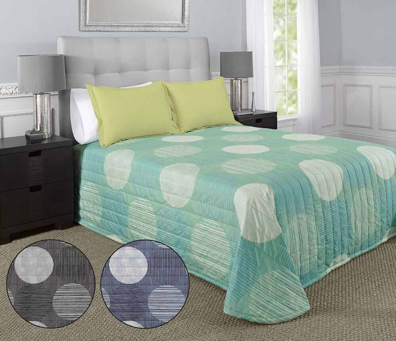 WestPoint/Martex Martex Rx or Comforter or Circles and Stripes or Black