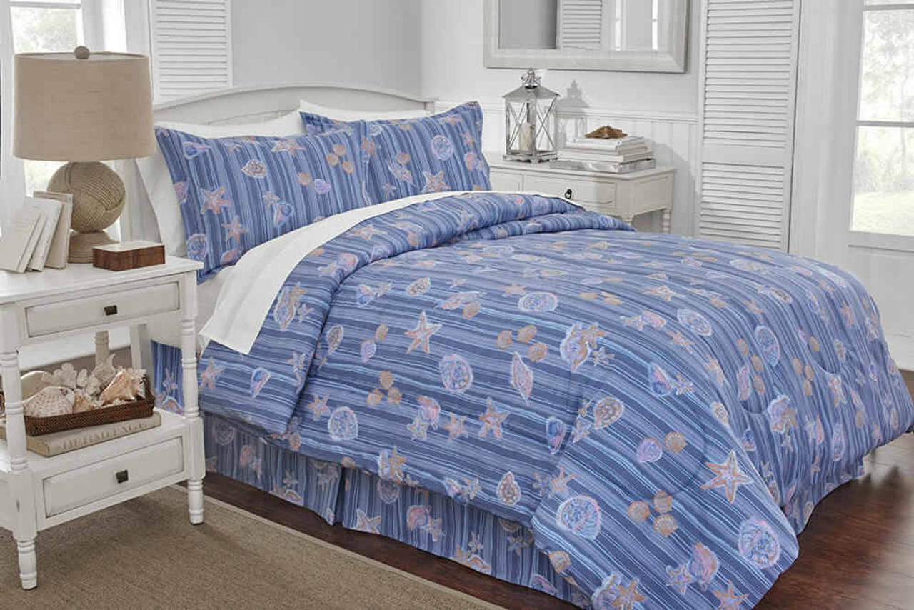 WestPoint/Martex Martex Rx or Comforter or Shells and Stripes or Blue