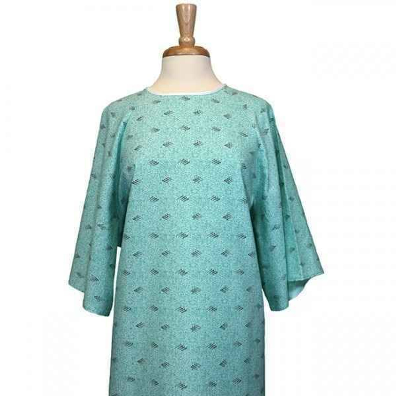 Patient Gown or Ambassador Overlap or Green/Grey stripe or 63 sweep or 1 DZ