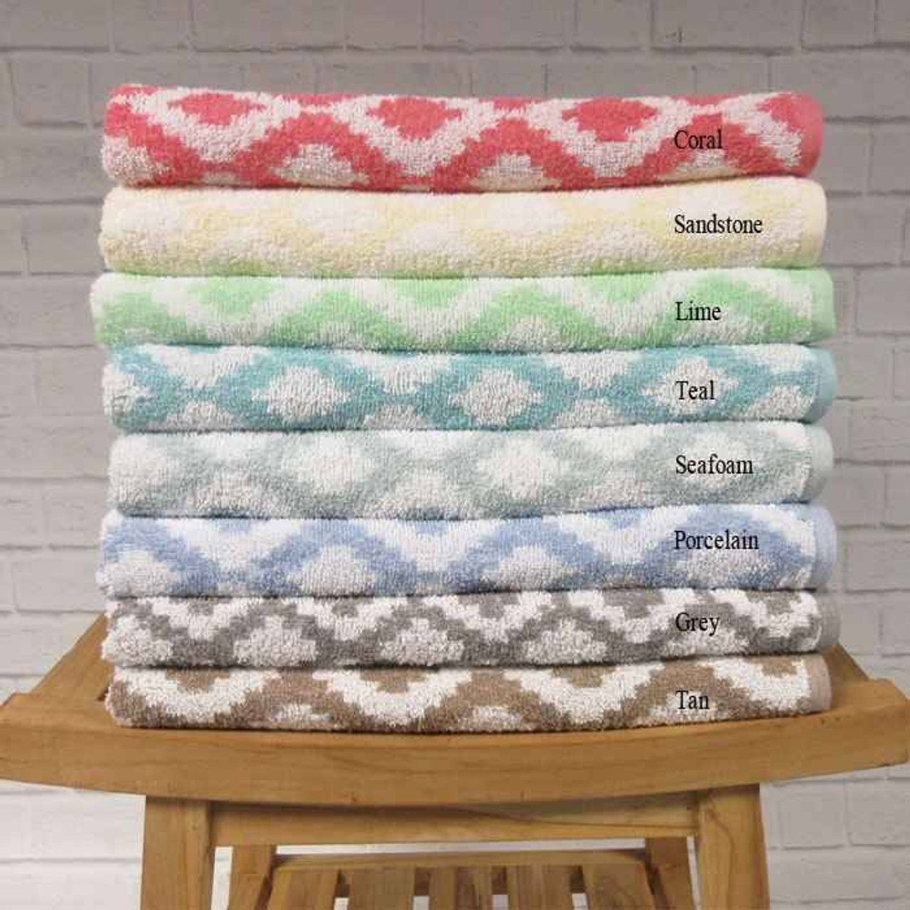 1888 Mills 1888 Mills Bath Sheets or Fibertone or Diamond Jacquard Towels